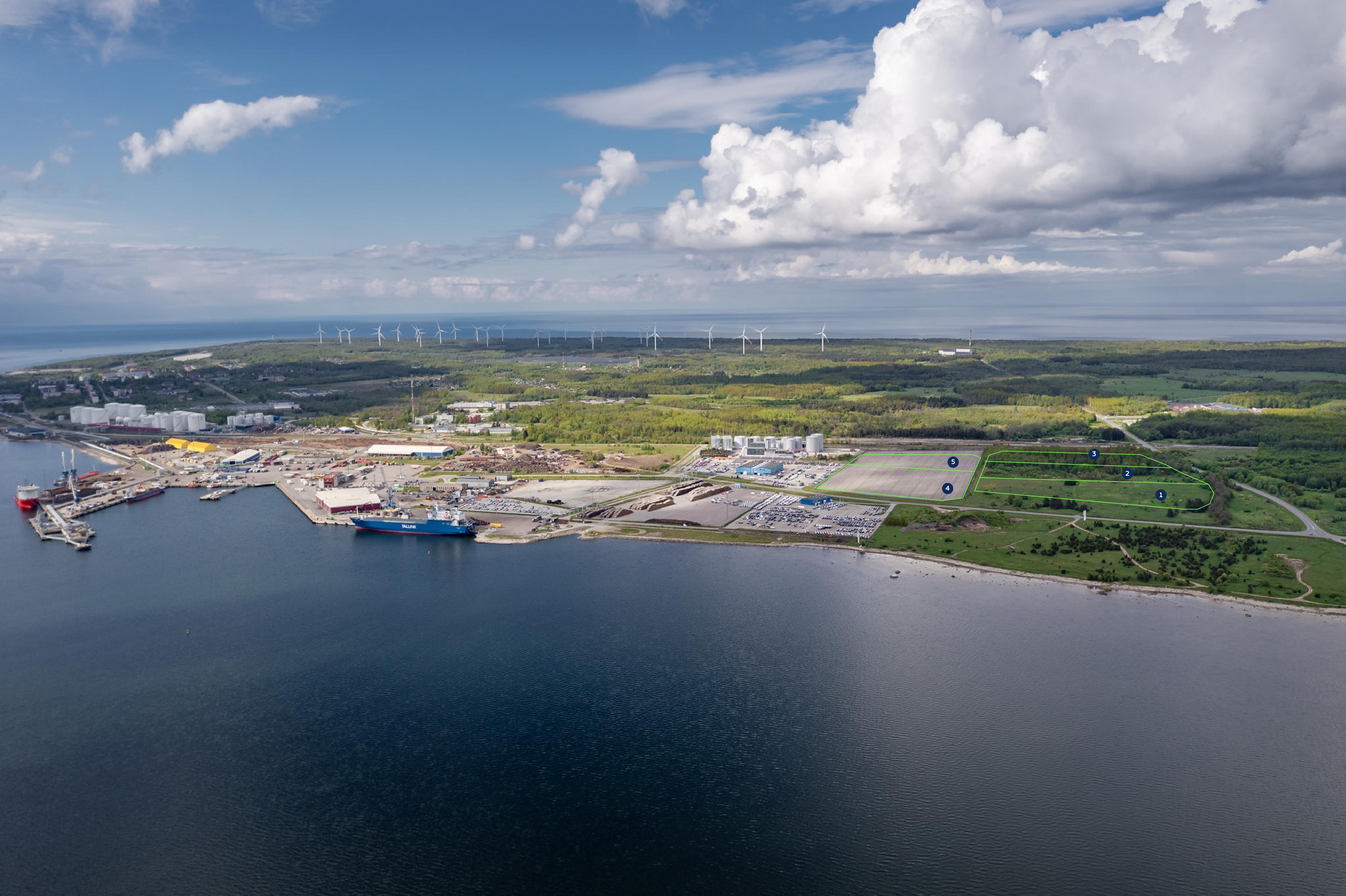 Paldiski South Harbour industrial park